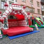 Gumpischloss Ritterburg rot Vermietung