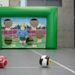Fussball Torwand mieten