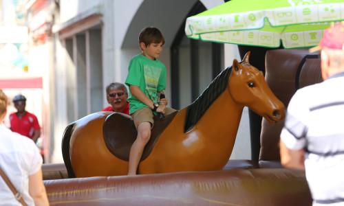 Rodéo cheval