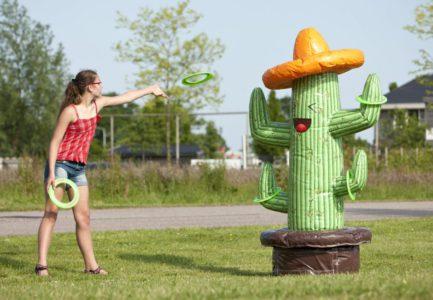 Cactus gonflable à disques