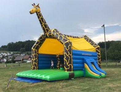 Château gonflable Girafe géante