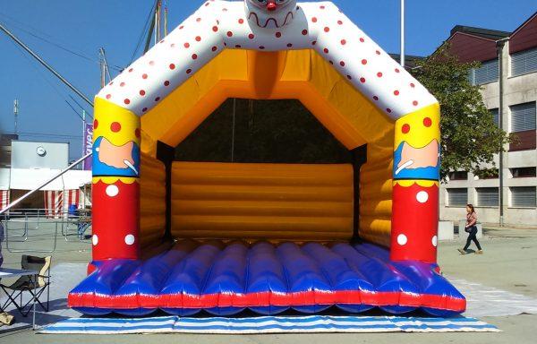 Hüpfburg Clown XL