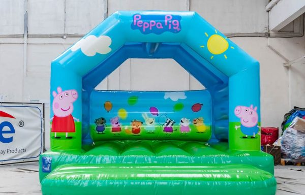 Château gonflable Peppa Pig